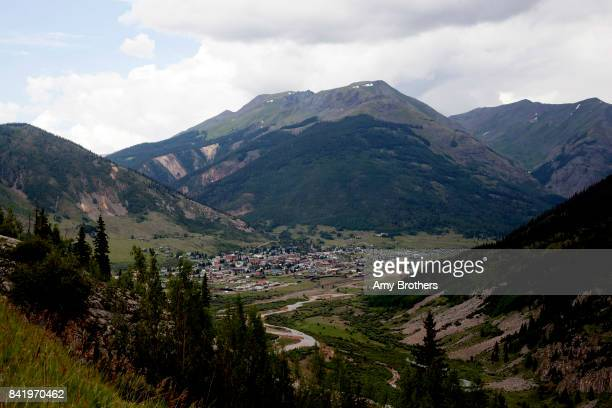 COUNTY CO The mountain town of Silverton Colorado on July 31 2017