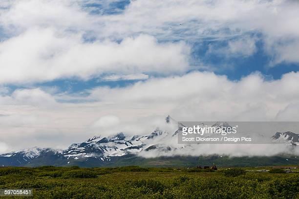 The Mountainous View From Cold Bay, Alaska Peninsula