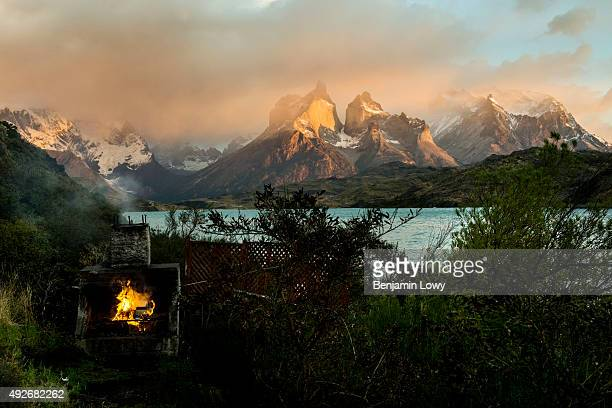 The mountains of Chile's Torres del Paine National Park March 10 2015