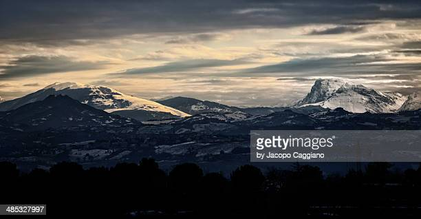 the mountains - jacopo caggiano stock pictures, royalty-free photos & images