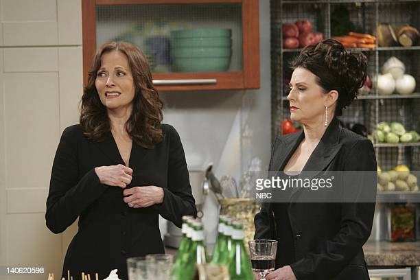 WILL GRACE The Mourning Son Episode 20 Pictured Lesley Ann Warren as Tina Megan Mullally as Karen Walker Photo by Chris Haston/NBCU Photo Bank