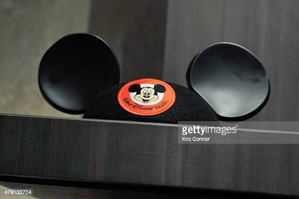 The Mouseketeer Beanie is on display during the grand opening of National Museum Of American History's Innovation Wing at the National Museum Of...