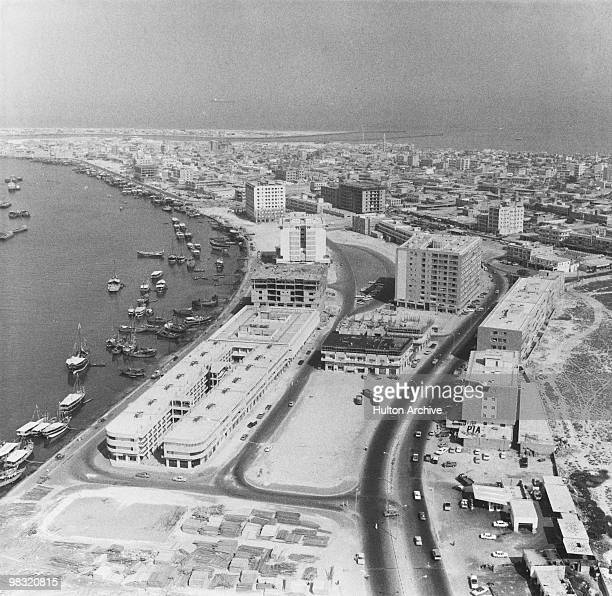 The mouth of the Creek in Dubai circa 1978