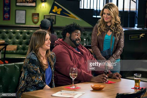 UNDATEABLE The Move Episode 113 Pictured Bianca Kajlich as Leslie Ron Funches as Shelly Briga Heelan as Nicki