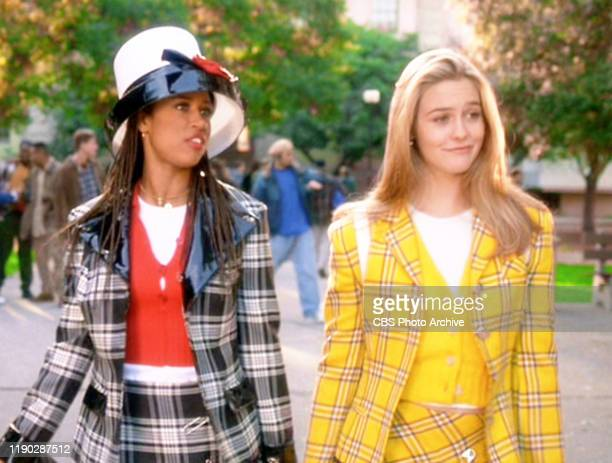 """The movie """"Clueless"""", written and directed by Amy Heckerling. Seen here from left, Stacey Dash , and Alicia Silverstone . Theatrical wide release,..."""