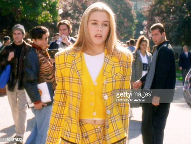 """The movie """"Clueless"""", written and directed by Amy Heckerling. Seen here, Alicia Silverstone . Theatrical wide release, Friday, July 21, 1995. Screen..."""