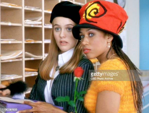 """The movie """"Clueless"""", written and directed by Amy Heckerling. Seen here from left, Alicia Silverstone and Stacey Dash . Theatrical wide release,..."""