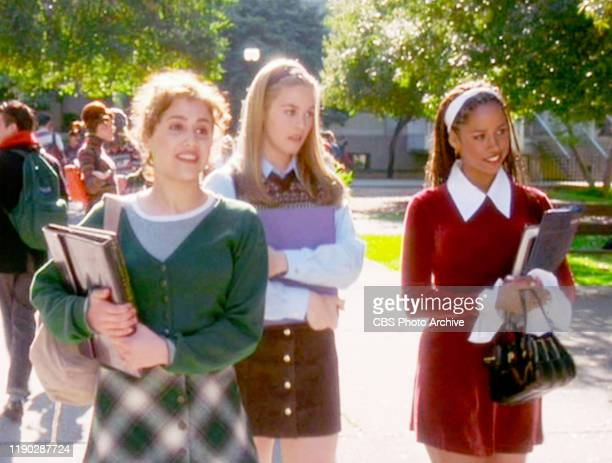 """The movie """"Clueless"""", written and directed by Amy Heckerling. Seen here from left, Brittany Murphy , Alicia Silverstone and Stacey Dash . Theatrical..."""