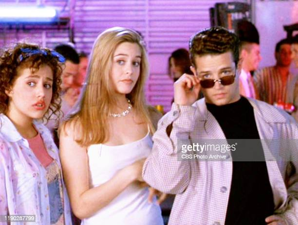 """The movie """"Clueless"""", written and directed by Amy Heckerling. Seen here from left, Brittany Murphy , Alicia Silverstone and Justin Walker ...."""