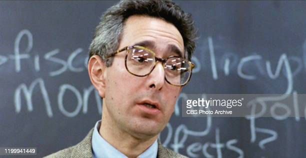"""The movie """"Ferris Bueller's Day Off"""", written and directed by John Hughes. Seen here, Ben Stein as Economics Teacher. Initial theatrical release June..."""