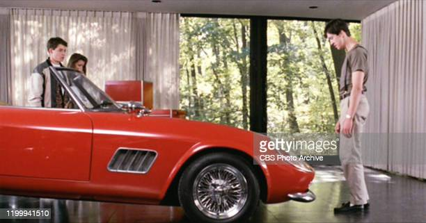 """The movie """"Ferris Bueller's Day Off"""", written and directed by John Hughes. Seen here from left, Matthew Broderick as Ferris Bueller, Mia Sara as..."""