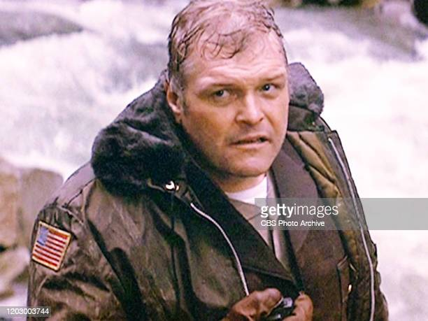 "The movie ""First Blood"", directed by Ted Kotcheff. . Based on David Morrell's novel of the same name. Seen here, Brian Dennehy as Sheriff Will..."