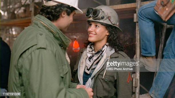 The movie Flashdance directed by Adrian Lyne Seen here from left Michael Nouri as Nick Hurley and Jennifer Beals as Alex Owens Initial theatrical...