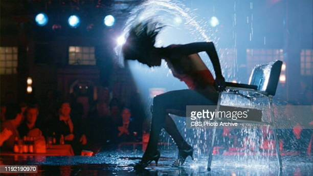 The movie Flashdance directed by Adrian Lyne Seen here Jennifer Beals as Alexandra 'Alex' Owens dancer at a bar by night Initial theatrical release...