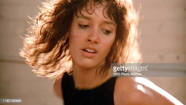 The movie Flashdance directed by Adrian Lyne Seen here Jennifer Beals as Alex Owens going through dance practice routine to the song 'Maniac'...