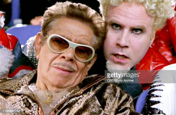 The movie Zoolander directed by Ben Stiller Seen here from left Jerry Stiller and Will Ferrell Theatrical release September 28 2001 Screen capture...