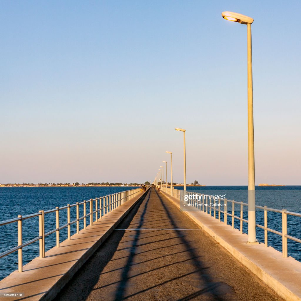 The Mozambique Island Bridge : Stock-Foto