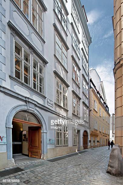 The Mozart in Domgasse 5. Vienna. 2013. Photograph by Gerhard Trumler.