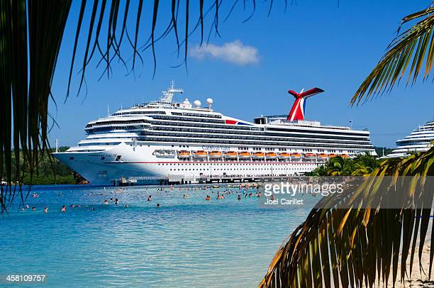 caribbean cruise - cruise ship stock pictures, royalty-free photos & images