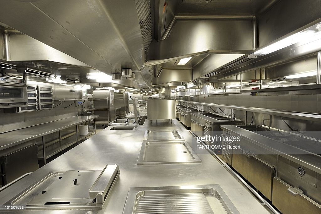 The Msc Fantasia Cruise Ship Pictures Getty Images - Cruise ship kitchen