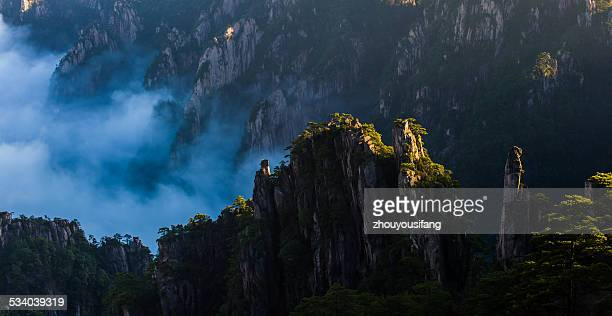 The Mt. Huangshan scenery