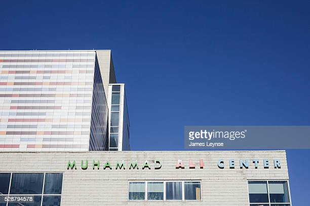 The Muhammad Ali Center a museum and cultural center built as a tribute to the champion boxer Muhammad Ali and his values is located in Louisville...
