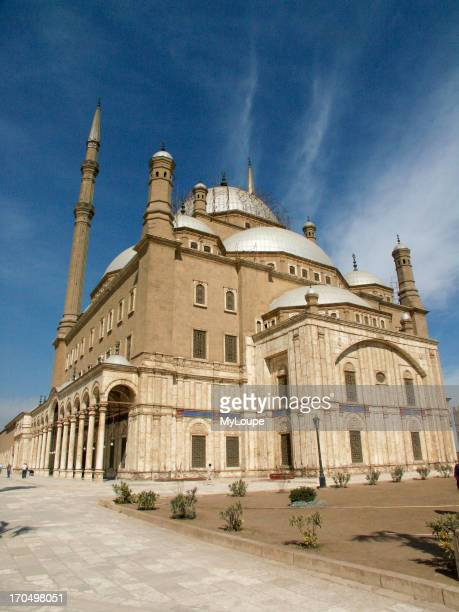 The Muhammad Ali Mosque Also Known As The Alabaster Mosque In Islamic Cairo Egypt Built On The Site Of The Mamluk Palaces Between 1830 And 1857...