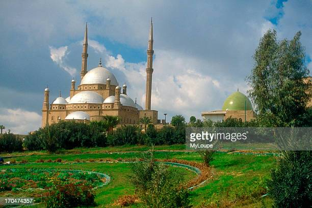 The Muhammad Ali Mosque also known as the alabaster mosque in Old Cairo Egypt