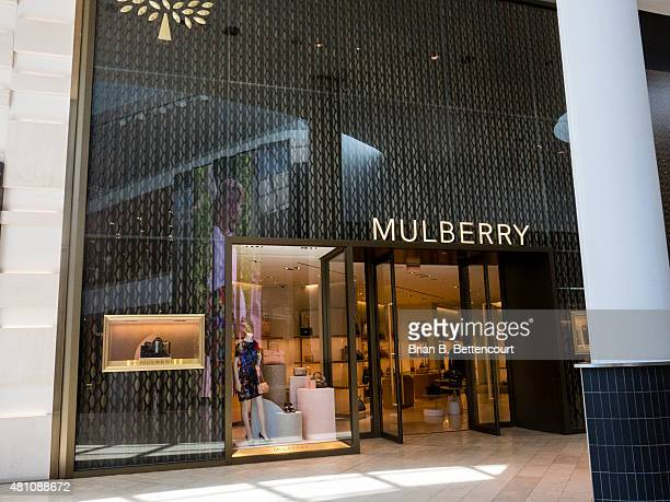 The Mulberry retail store inside the Yorkdale Mall on July 16, 2015. The shop is one of many high end luxury retailers within the mall.