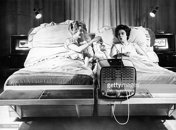 The multipurpose bed which costs 2500 pounds 15 January 1959 It has two builtin radios a teamaker an electric shaver a massage machine bookshelves a...
