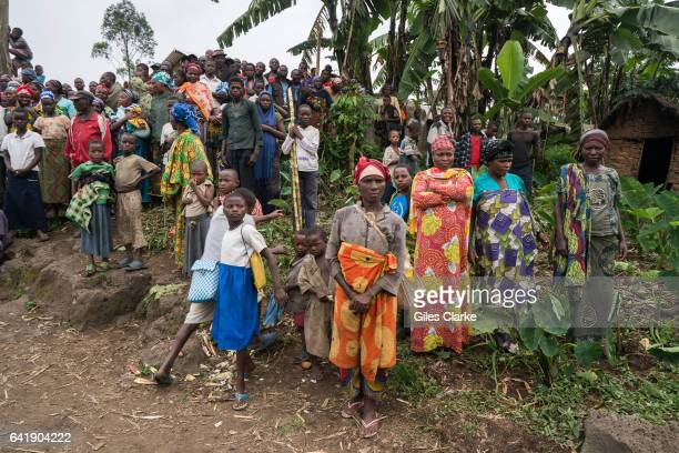 The Mungote Internally Displaced Persons camp some 80km north of Goma in The Democratic Republic of Congo. The Mungote IDP camp is one of the largest...