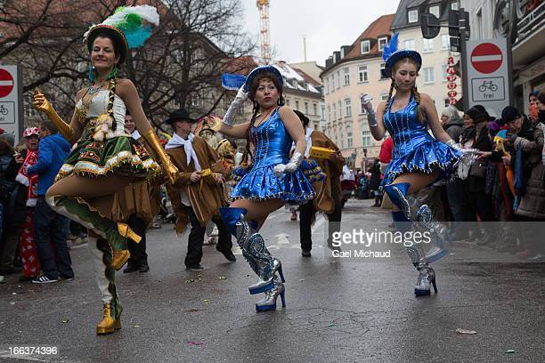 The Munich Carnival takes place in the streets, as many people disguised themselves and danced. During the Fasching main season from January 7 to...