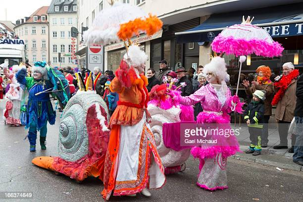 CONTENT] The Munich Carnival takes place in the streets as many people disguised themselves and danced During the Fasching main season from January 7...