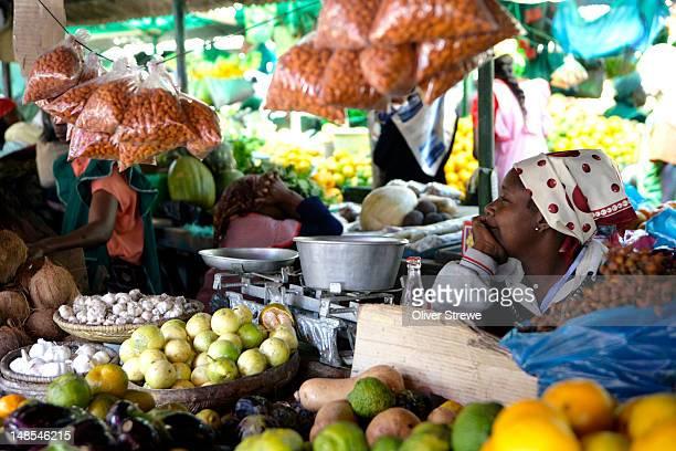 The Municipal markets downtown, Maputo, Mozambique.