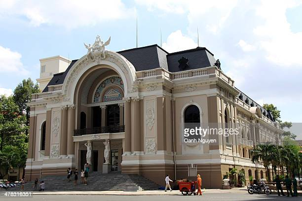 CONTENT] The Municipal Theatre of Ho Chi Minh City also known as Saigon Opera House is an opera house in Ho Chi Minh City Vietnam It is an example of...