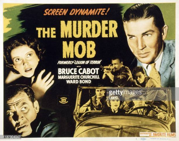 The Murder Mob poster US poster left from top Marguerite Churchill Ward Bond Bruce Cabot 1936