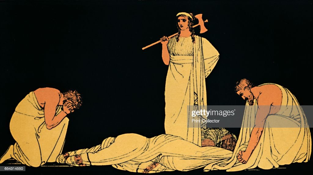 The Murder Of Agamemnon, 1880 : News Photo