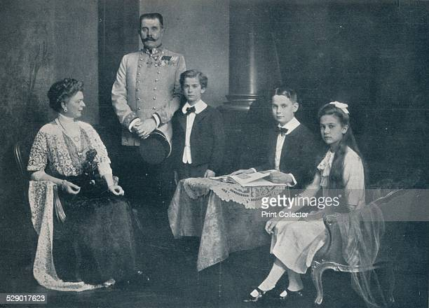 The murdered Archduke Francis Ferdinand with his wife and children' c1910 Archduke Franz Ferdinand of Austria and his family c1910 The Archduke and...