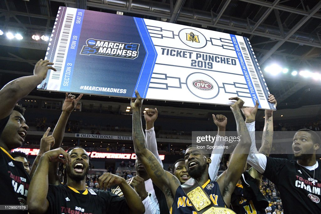 COLLEGE BASKETBALL: MAR 09 Ohio Valley Conference Tournament - Murray State v Belmont : News Photo