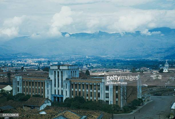 The Museo de Antioquia or Museum of Antioquia an art museum in Medellin Colombia South America circa 1965