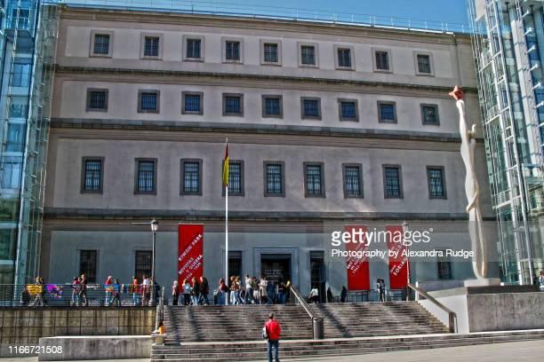 the museo nacional centro de arte reina sofía. - arte stock pictures, royalty-free photos & images