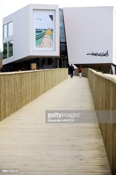 The museum housed in a building designed by the French architect Christian de Portzamparc is dedicated to the famous Belgian cartoonist Herge the...