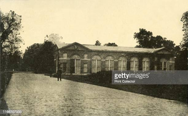 The Museum Kew Gardens' circa 1915 The Orangery at the Royal Botanic Gardens in Kew west London was designed by Sir William Chambers and completed in...