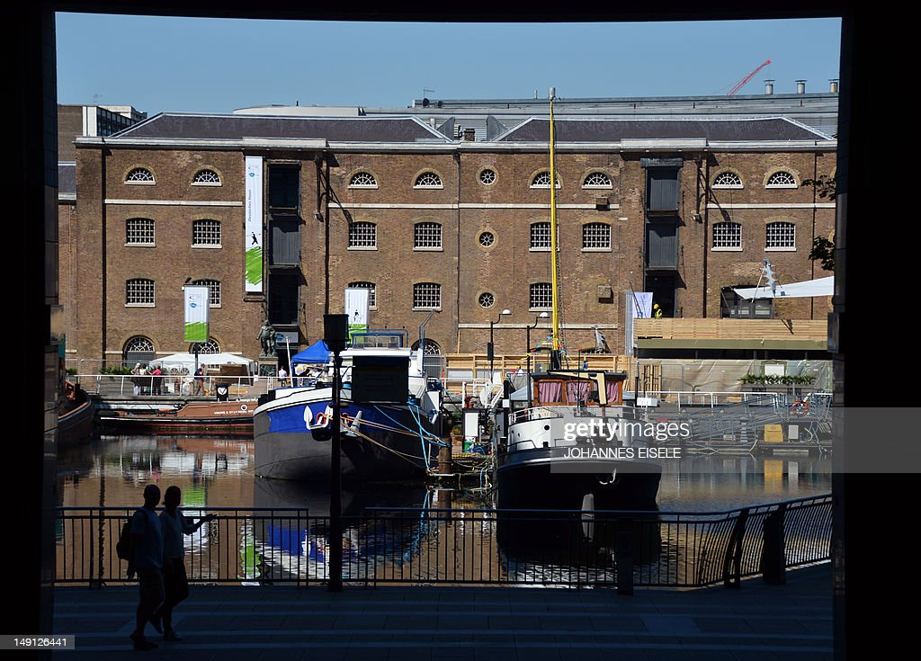 The Museum of London Docklands, which wi : Nachrichtenfoto