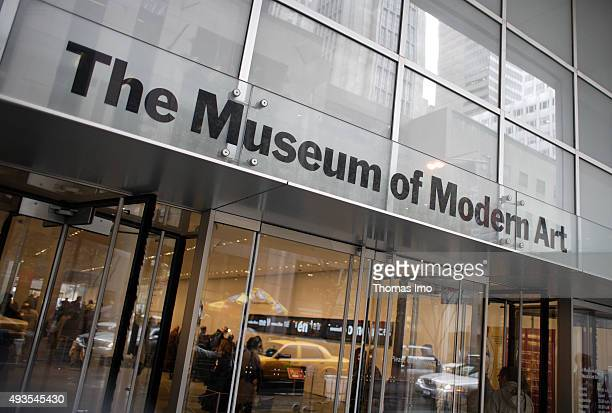 The Museum Of Modern Art on April 16 2007 in New York United States
