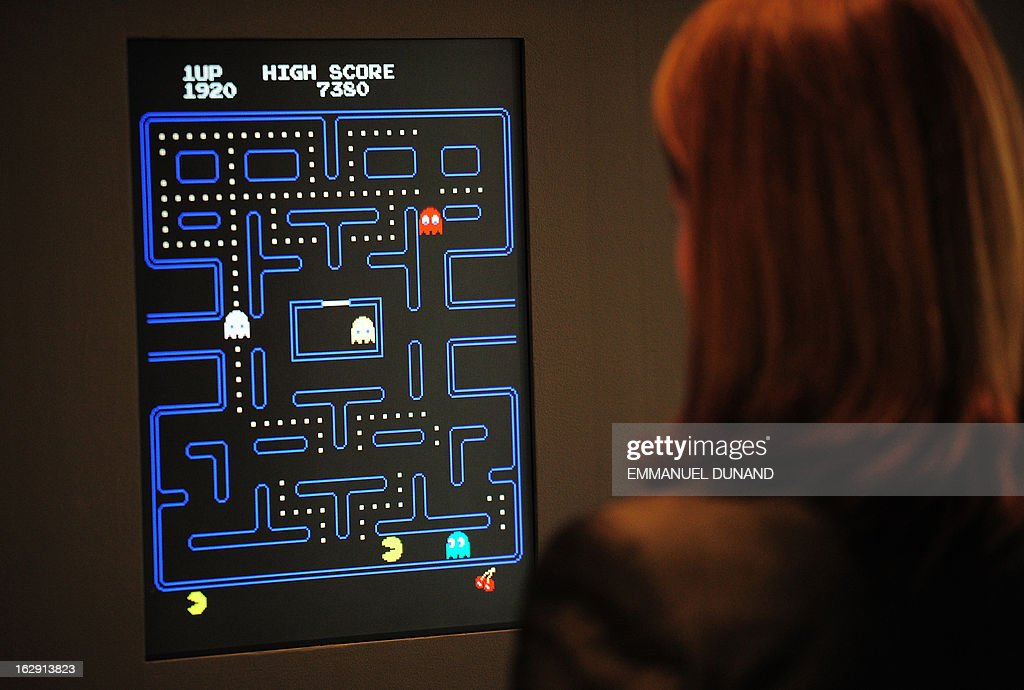 US-ART-MOMA-VIDEO GAMES : News Photo