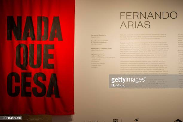 The Museum of Modern Arts of Bogota reopens after 5 months of inactivity with the exhibition of Fernando Arias 'Nada Que Cesa' It hasn't ceased yet...