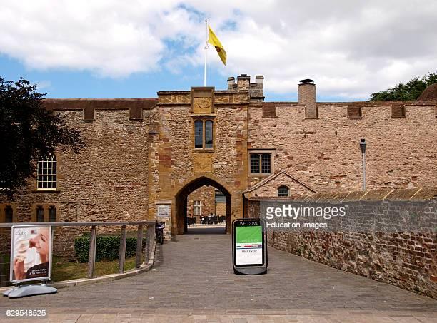 The Museum of Somerset, Taunton, Somerset, UK.