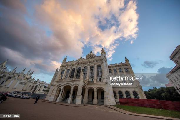 the museum of the revolution at havana, cuba - cuban war of independence stock pictures, royalty-free photos & images