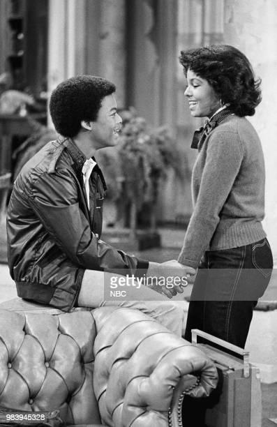 RENT STROKES The Music Man Episode 24 Pictured Todd Bridges as Willis Jackson Janet Jackson as Charlene DuPrey
